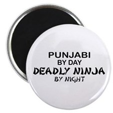 Punjabi Deadly Ninja by Night Magnet