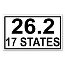 17 Stater Rectangle Decal