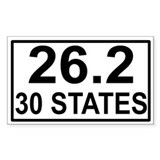 30 Stater Rectangle Decal