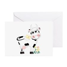 Cute Cow Greeting Cards (Pk of 10)