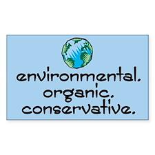 Environmental Organic Rectangle Decal