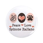 Peace Love Spinone Italiano 3.5