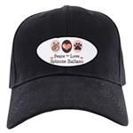 Peace Love Spinone Italiano Black Cap