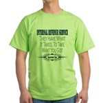 IRS Green T-Shirt