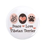 Peace Love Tibetan Terrier 3.5