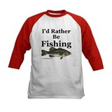 "Kids' ""Rather Be Fishing"" Bass Jersey"