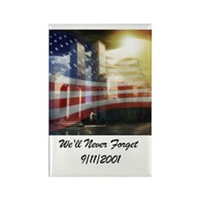 We'll Never Forget Rectangle Magnet (10 pack)