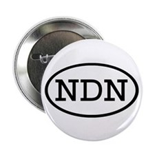 "NDN Oval 2.25"" Button (10 pack)"