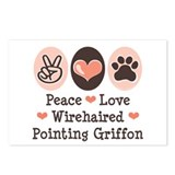 Wirehaired Pointing Griffon Postcards (Package of