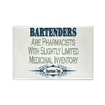 Bartenders Rectangle Magnet (100 pack)