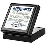 Bartenders Keepsake Box