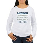 Bartenders Women's Long Sleeve T-Shirt