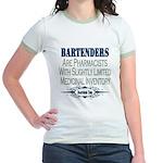 Bartenders Jr. Ringer T-Shirt