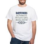Bartenders White T-Shirt
