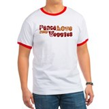Peace, Love and Veggies T