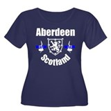 Aberdeen Scotland Women's Plus Size Scoop Neck Dar