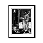 Red Death Framed Panel Print