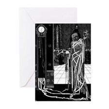 Red Death Greeting Cards (Pk of 20)