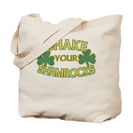 Shake Your Shamrocks Tote Bag