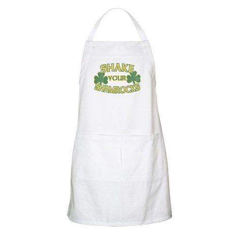 Shake Your Shamrocks BBQ Apron