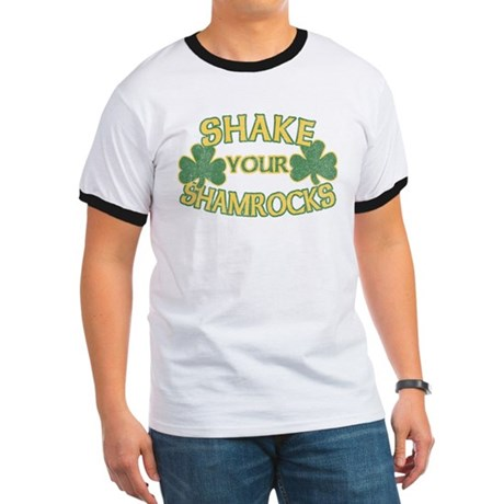 Shake Your Shamrocks Ringer T