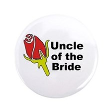 """Uncle of the Bride 3.5"""" Button"""
