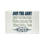 Join The Army Rectangle Magnet (100 pack)
