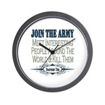 Join The Army Wall Clock