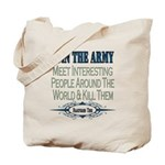 Join The Army Tote Bag