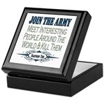 Join The Army Keepsake Box