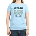Join The Army Women's Light T-Shirt