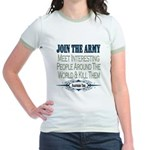 Join The Army Jr. Ringer T-Shirt