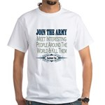 Join The Army White T-Shirt