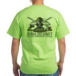 2005 Human Test Subject Green T-Shirt