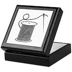 Needle and Thread - Sewing Cr Keepsake Box