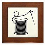 Needle and Thread - Sewing Cr Framed Tile