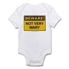 Not Very Wary 'Clean Print' Infant Bodysuit