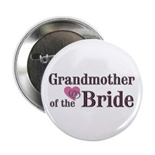 "Grandmother of Bride II 2.25"" Button (100 pack)"