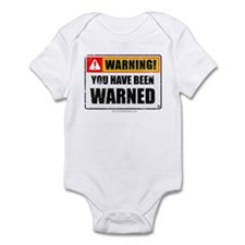 You Have Been Warned 'Aged Print' Infant Bodysuit