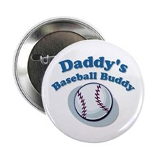 "Daddy's Baseball Buddy 2.25"" Button (10 pack)"