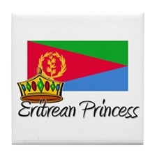 Eritrean Princess Tile Coaster