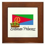 Eritrean Princess Framed Tile