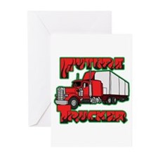 Future Trucker Greeting Cards (Pk of 20)