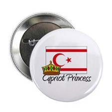 "Cypriot Princess 2.25"" Button (10 pack)"