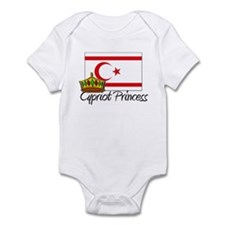 Cypriot Princess Infant Bodysuit