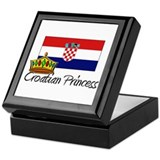 Croatian Princess Keepsake Box