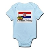 Croatian Princess Infant Bodysuit