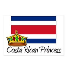 Costa Rican Princess Postcards (Package of 8)