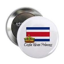 "Costa Rican Princess 2.25"" Button"
