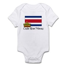 Costa Rican Princess Infant Bodysuit